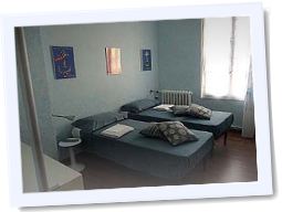 Camera Celeste B&B 3B Bordighera